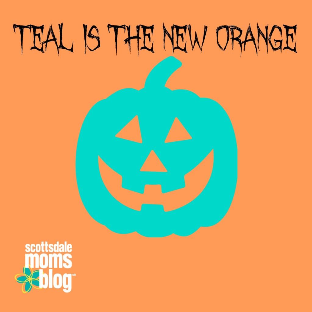 Teal pumpkins bring awareness to the dangers of food allergies.