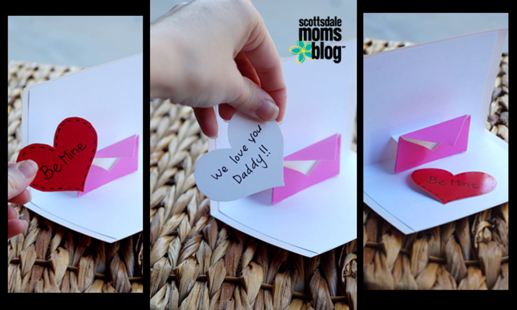 Valentine's pop out cards