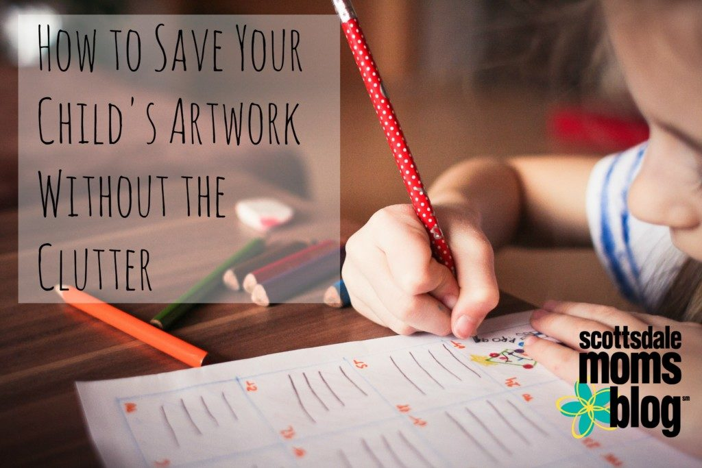 save your child's artwork