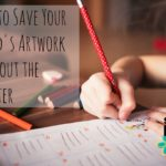 How to Save Your Child's Artwork Without the Clutter
