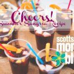 Cheers! Summer Sangria Recipe