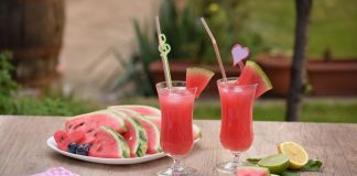 watermelon slushie