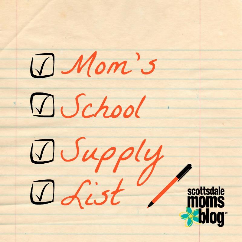 mom school supplies