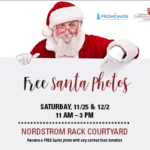 >> FREE << photos with Santa at the Promenade {two dates}