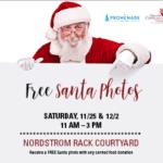 >> FREE << photos with Santa at the Promenade {two dates}