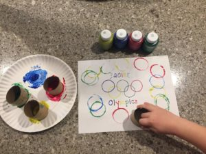 Winter Olympics Activities: Art Project