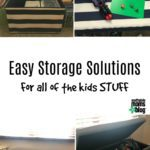 Easy Storage Solutions for All the Kids STUFF!