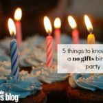 """5 Things You Should Know About a """"Please, No Gifts"""" Birthday Party"""