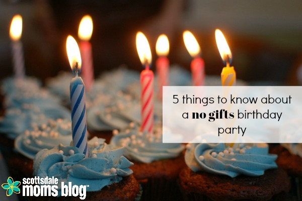 5 Things You Should Know About A Please No Gifts Birthday Party