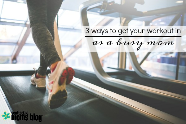 workout as a busy mom