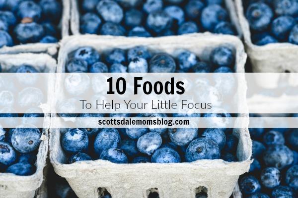 foods to focus