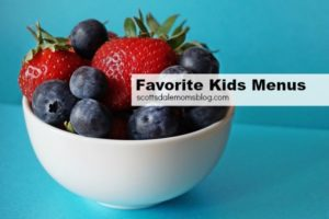 kids menus