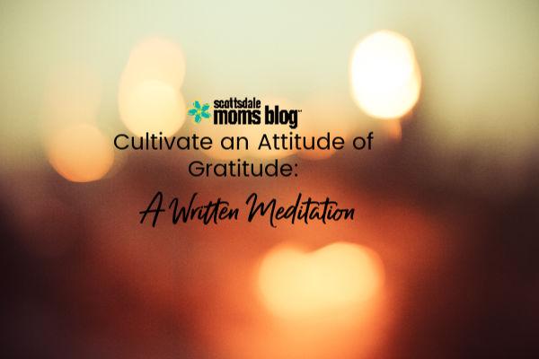 written meditation