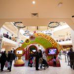 Visiting Santa's HQ at Fashion Square, as presented by HGTV