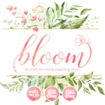 Bloom is this week! Join us!