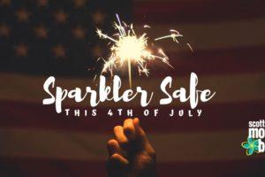 Sparkler Safe