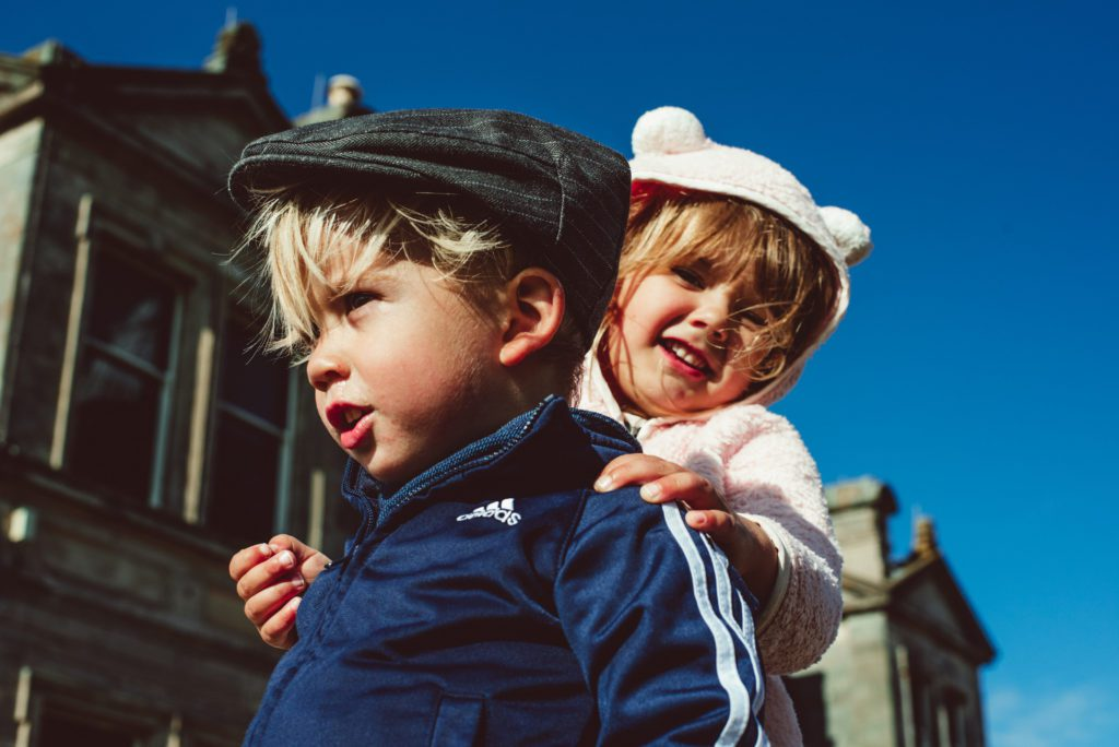 tips for traveling overseas with small children