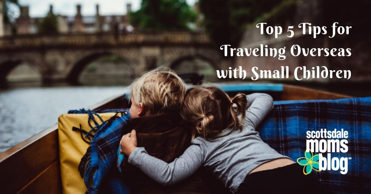 traveling overseas with children