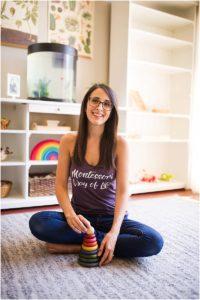 Emily, a Montessori Mama