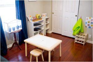 Montessori learning space