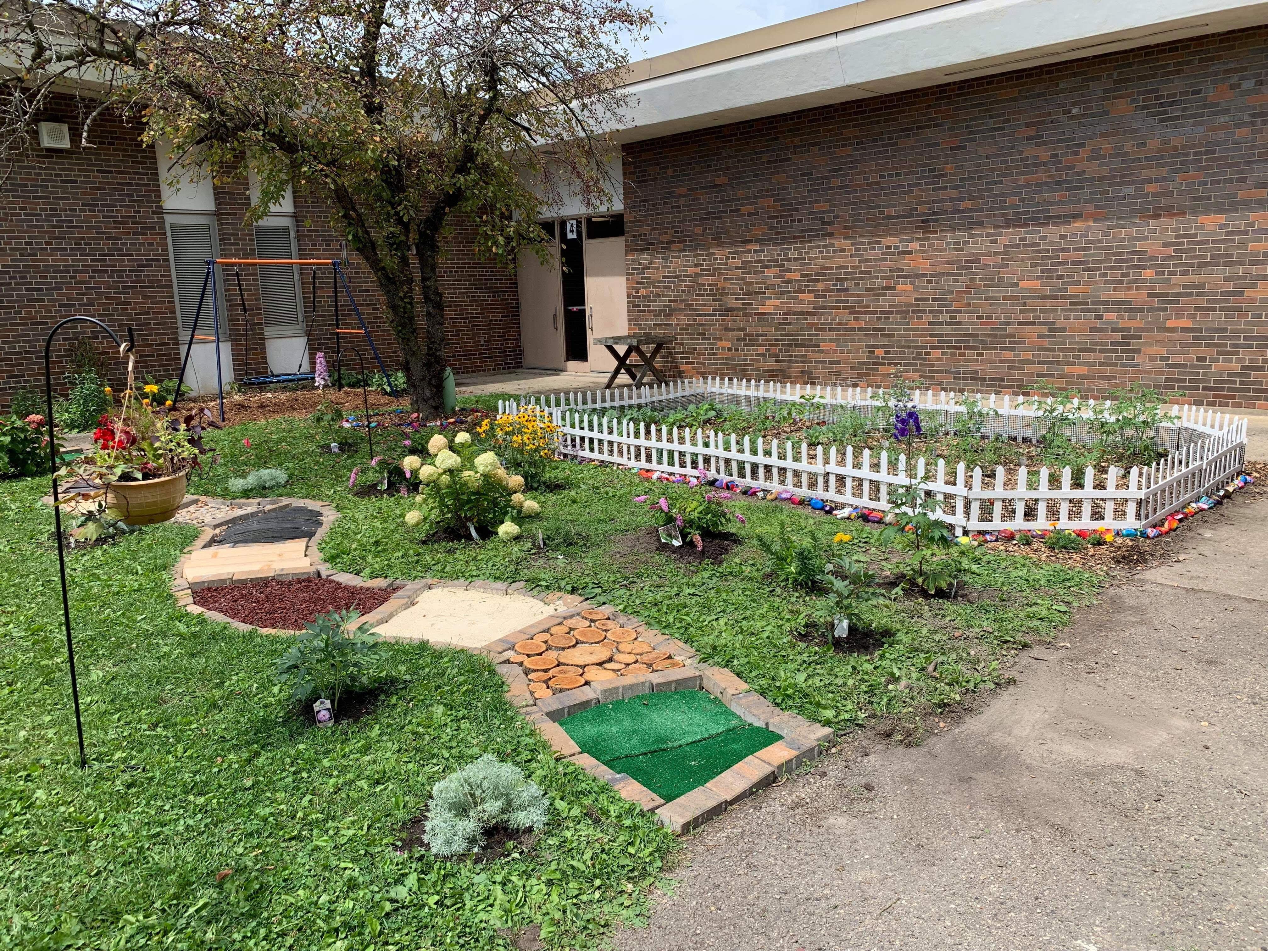 Sensory Path Garden