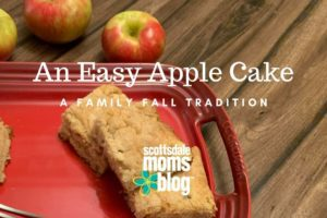 an easy apple cake