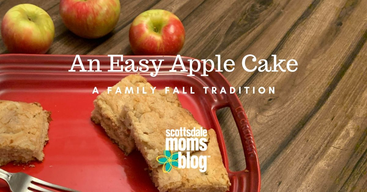 an easy apple cake