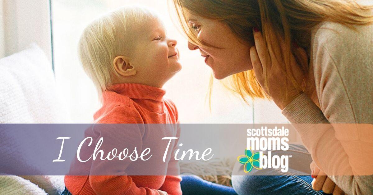 I choose time