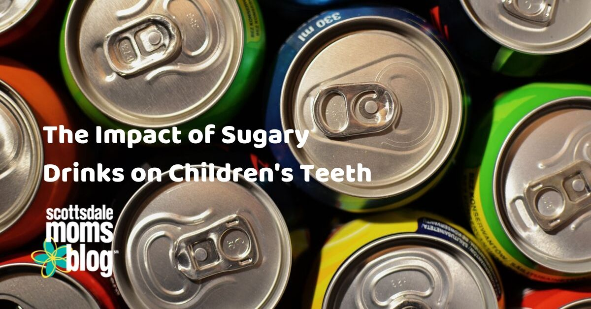 the impact of sugary drinks on children's teeth