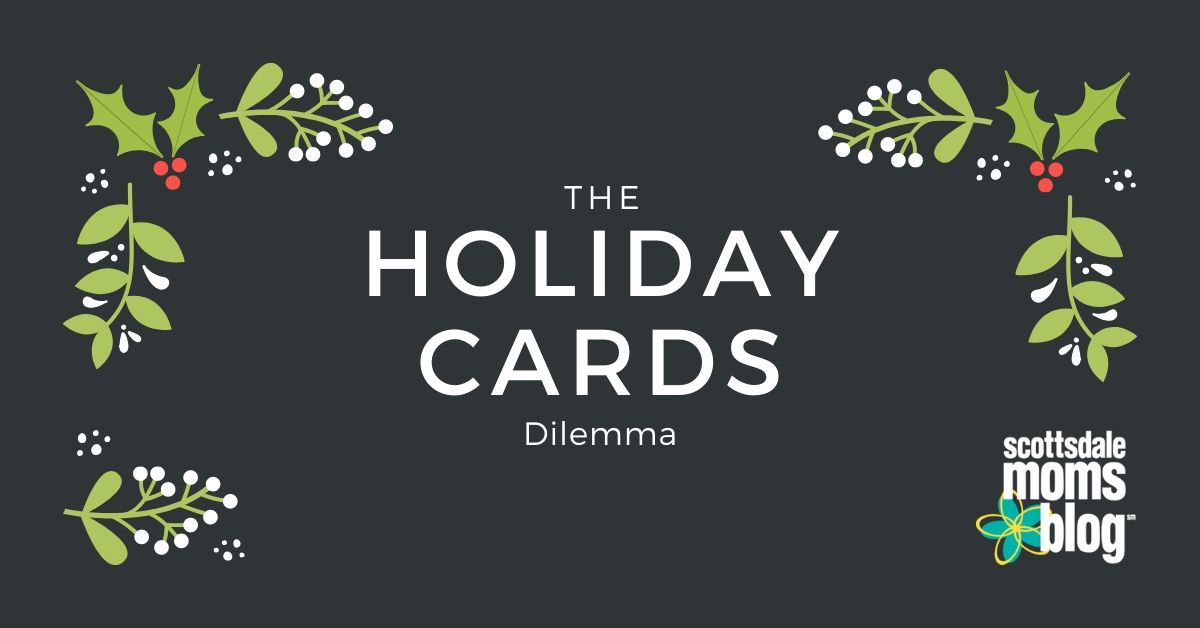holiday cards dilemma
