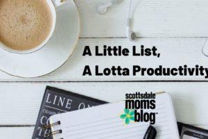 A Little List, A Lotta Productivity