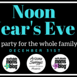 Tickets for our Noon Year's Eve Party are now live!
