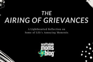 airing of grievances