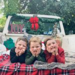 Adorable Holiday Photo Shoot Set Up