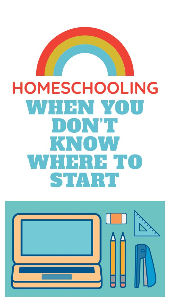 Pin for Homeschooling when you know know where to start