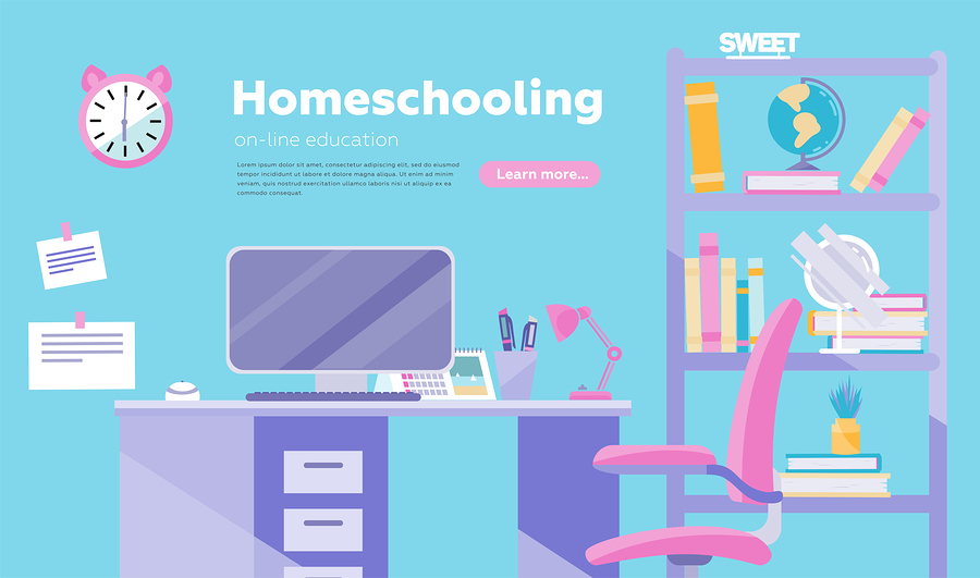 Homeschooling graphic