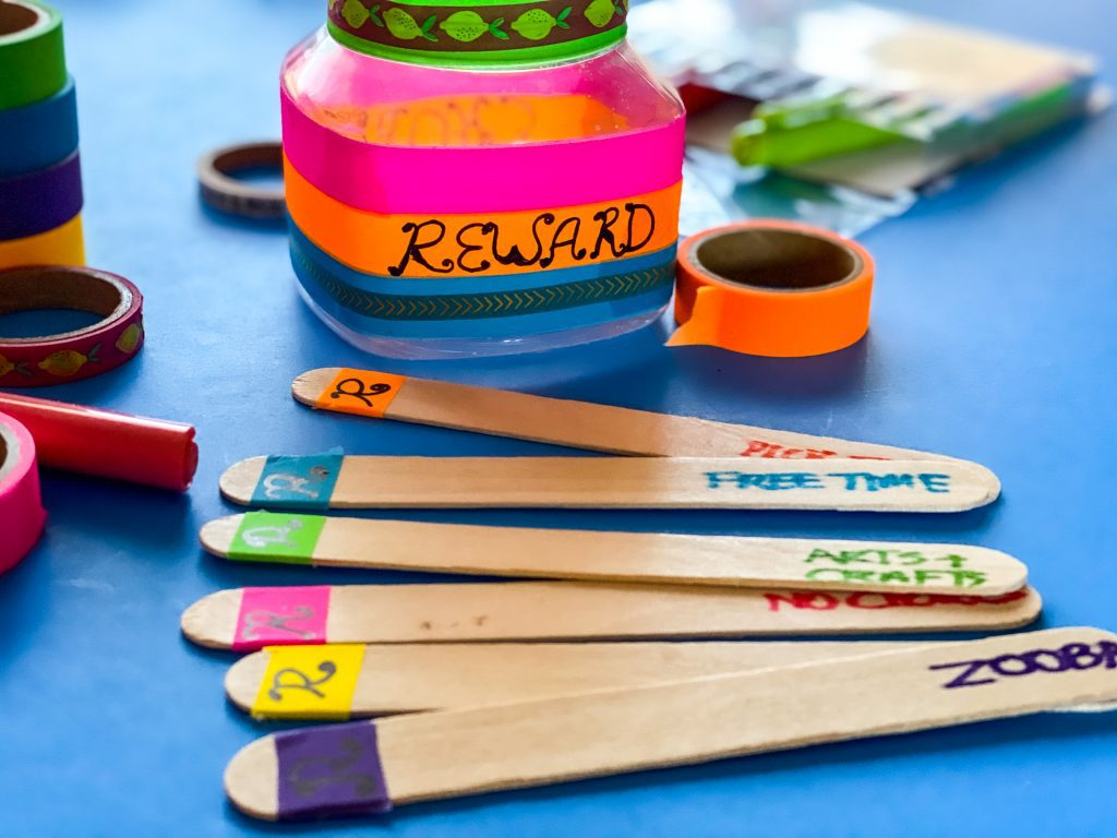 How To Make A Diy Reward Jar A Chore Jar For Kids